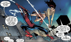 draconian62:  Never forget that during the Spider-Island story-line we learn Peter and Mary Jane had fucked so much that she gained an immunity to a virus that turned everyone in New York into mutant spiders.: draconian62:  Never forget that during the Spider-Island story-line we learn Peter and Mary Jane had fucked so much that she gained an immunity to a virus that turned everyone in New York into mutant spiders.