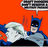 Dodgers, Draft, and  Dont: DRAFT DODGERS  DON'T DESERVEA  LITARY PARADE