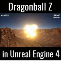 Dragonball, Gaming, and Dbz: Dragonball Z  emudshit  UNILAD  GAMING  in Unreal Engine 4 This would be so much fun to play
