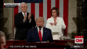 dragoni:Speaker Pelosi rips up Trump's State of the Union speech in front of the entire world ✊  💜     yet she approved increases to his military budget to bomb brown people in the middle east so what exactly, at the substantive level, is she resisting? Trump derangement syndrome is so pervasive with liberals that they are willing to stan and yass queen an oligarch worth over $100 million who barely challenges Trump where it counts and who badmouths and tries to thwart progressives within her own party  Jesus Christ. : dragoni:Speaker Pelosi rips up Trump's State of the Union speech in front of the entire world ✊  💜     yet she approved increases to his military budget to bomb brown people in the middle east so what exactly, at the substantive level, is she resisting? Trump derangement syndrome is so pervasive with liberals that they are willing to stan and yass queen an oligarch worth over $100 million who barely challenges Trump where it counts and who badmouths and tries to thwart progressives within her own party  Jesus Christ.