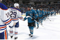 Congratulations to the San Jose Sharks, your 2017 Stanley Cup Ultimate Losers! The Sharks lost to the Oilers who lost Ducks, who lost to the Predators who lost to the Penguins!: DRAISAITL  VI Congratulations to the San Jose Sharks, your 2017 Stanley Cup Ultimate Losers! The Sharks lost to the Oilers who lost Ducks, who lost to the Predators who lost to the Penguins!