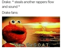 Memes, Travis Scott, and 🤖: Drake: steals another rappers flow  and Sound  Drake fans  Wow, the  Giao A.T. Y'all seen that Travis Scott fall?