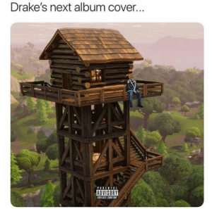 Views from the Lodge: Drake's next album cover.  EXPLICIT CONTENT Views from the Lodge