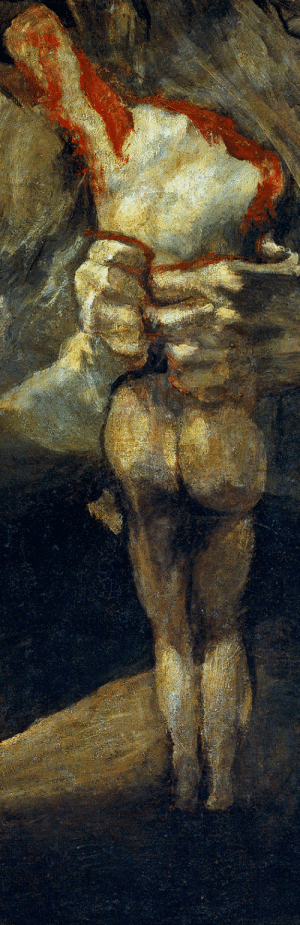 drakontomalloi: Francisco de Goya - Untitled (known as Saturn Devouring His Son), detail. 1819 - 1823 : drakontomalloi: Francisco de Goya - Untitled (known as Saturn Devouring His Son), detail. 1819 - 1823