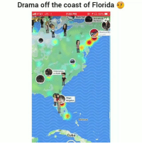 Funny, Grammys, and Music: Drama off the coast of Florida  8:09 PM  @  64%  Music Hal  018AMAS  Grammys Sh  Magic  Kingdom  Cuba Yall wrong for this 😂💀