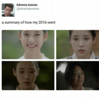 Memes, 🤖, and Drama: drama scenes  @kdrama scenes  a summary of how my 2016 went i havent watched a kdrama in like two years but i feel this so much :~)) @nuggeret