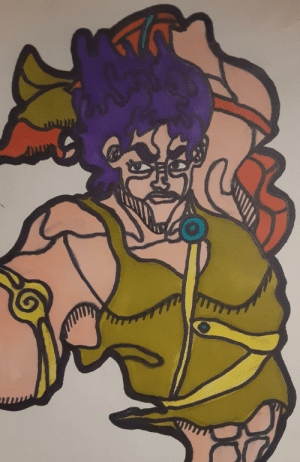 Drawing Jojo Characters in Oingo Boingo Style Everday Until Stone Ocean is Announced (Day 1) (Jonathan Joestar): Drawing Jojo Characters in Oingo Boingo Style Everday Until Stone Ocean is Announced (Day 1) (Jonathan Joestar)