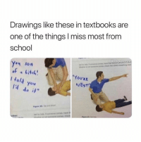 Ironic, School, and Drawings: Drawings like these in textbooks are  one of the things I miss most from  school  4 son  You'AE  NET  you