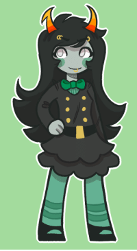 Target, Tumblr, and Best: drawthiere:  a small porrim for yall,,, tumblr makes it look so big tho oogits meant to b based off of her ministrife outfit, but since they're so tiny it's hard to make out details,, i did my best tho