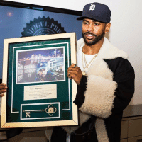 Big Sean, Detroit, and Key to the City: DREAM  Sean Big Sean  Anderson Big Sean received the key to the city of Detroit 👏💯 https://t.co/NYhQXdLQz6