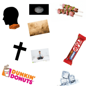 It's just out-of-context spoilers: Dreamstine.com  DUNKIN'  DONUTS  DD  Nestle  Hove a uk.hove a  KitKat  CHUNKY It's just out-of-context spoilers