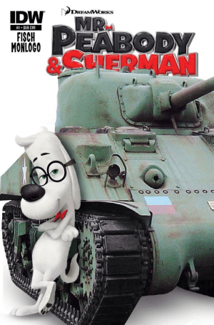 Dreamworks, Wwii, and  Sub: DREAMWORKS  #1-SUB CVR  ISCH  MONLOCO  8CHERMAN WWII Enlistment Poster 1942 (OC)