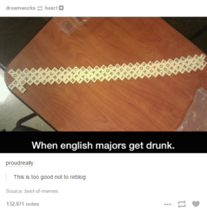 Never gonna play this person in scrabbleomg-humor.tumblr.com: dreamwurks heart  When english majors get drunk.  proudreally:  This is too good not to reblog  Source: best-of-memes  132,871 notes Never gonna play this person in scrabbleomg-humor.tumblr.com
