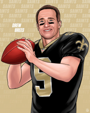 Drew Brees. QB, New Orleans Saints.⚜️ https://t.co/6C6s2TYDLF: Drew Brees. QB, New Orleans Saints.⚜️ https://t.co/6C6s2TYDLF