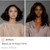 poc beauty: driflloorn  Beauty @ Jill Stuart FW15  Source: driflloon poc beauty