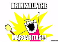 All The: DRINK ALL THE  MARGARITAS!!  memes com