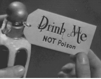Poison,  Drink, and Not: Drink Me  NOT Poison