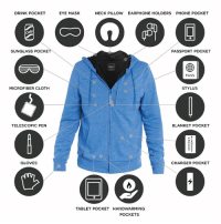 This jacket is packed full of insane features!  Black Friday Special Offer Unlocked ---> http://promo.diply.com/: DRINK POCKET  SUNGLASS POCKET  MICROFIBER CLOTH  TELESCOPIC PEN  GLOVES  EYE MASK  NECK PILLOW EARPHONE HOLDERS PHONE POCKET  PASSPORT POCKET  PASS  STYLUS  BLANKET POCKET  CHARGER POCKET  TABLET POCKET HANDWARMING  POCKETS This jacket is packed full of insane features!  Black Friday Special Offer Unlocked ---> http://promo.diply.com/