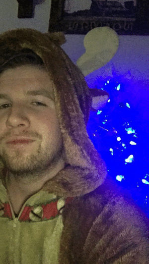 Drinking in a moose onesie cuz why not 😜 cheers y'all 🍻: Drinking in a moose onesie cuz why not 😜 cheers y'all 🍻