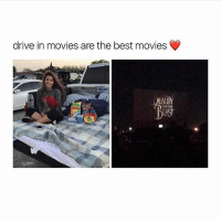 Bucket List, Memes, and Movies: drive in movies are the best movies  EAUIY  AND THE Going to a drive in movie is honestly on my bucket list like it just seems so fun and cozy