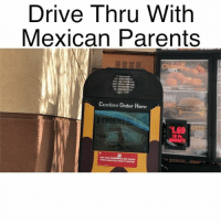 Cookies, Funny, and Memes: Drive Thru Witlh  Mexican Parents  Confirm Orcler Here  2 COOKIES  1.69  10 Pc  GGETS Why I hate translating.. 😩😂 Follow my other account @mrchuy0123 for more funny videos!! @mrchuy0123 😂 MexicansProblemas