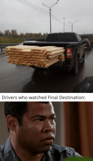 Oof intensifies by jeric_C137 MORE MEMES: Drivers who watched Final Destination: Oof intensifies by jeric_C137 MORE MEMES