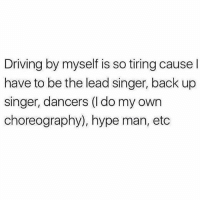 So tiring... . @DOYOUEVEN 👈🏼 10% OFF STOREWIDE - use code DYE10 🎉🚚 just tap the link in our BIO ✔️: Driving by myself is so tiring cause I  have to be the lead singer, back up  singer, dancers (I do my own  choreography), hype man, etc So tiring... . @DOYOUEVEN 👈🏼 10% OFF STOREWIDE - use code DYE10 🎉🚚 just tap the link in our BIO ✔️