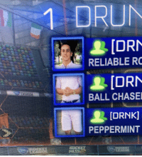 Lit, Squad, and Chase: [DRN  RELIABLE RO  [DRN  BALL CHASE  [DRNK]  PEPPERMINT  PAN This squad is LIT. https://t.co/bwyPB4u7uB