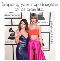 Memes, 🤖, and Step: Dropping your step daughter  off at prom like  RAMMY AWARDS  MY AWARDS  O  GRAMMY A  ARDS Why Taylor..... Why?? Nothing like a good shot of those pink depends too..... 😭😭😭 grammys2016