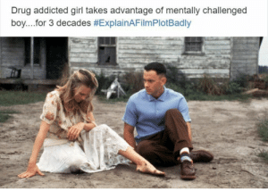 Forrest Gump: Drug addicted girl takes advantage of mentally challenged  boy for 3 decades Forrest Gump
