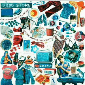China, Blue, and Free: DRUG STORE  ALIFORO  CHINA BLUE  PUT ON THAT HO  HOTEL CA  OUND LIKE PM  NO VACANCY  iso  UTION save = follow #NOT_SAVE_FREE