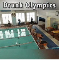 Drunk, Memes, and Good: Drunk Olympics Me good old commentary on a legless swimming race.🎙