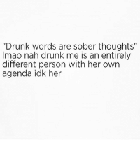 "@hardcorecomedy2.0 knows drunk me and we both agree she's a hot mess 🙄😝 Follow my boo @hardcorecomedy2.0 ❤ mmsip noharmdone teamnoharmdone: ""Drunk words are sober thoughts""  Imao nah drunk me is an entirely  different person with her own  agenda idk her @hardcorecomedy2.0 knows drunk me and we both agree she's a hot mess 🙄😝 Follow my boo @hardcorecomedy2.0 ❤ mmsip noharmdone teamnoharmdone"