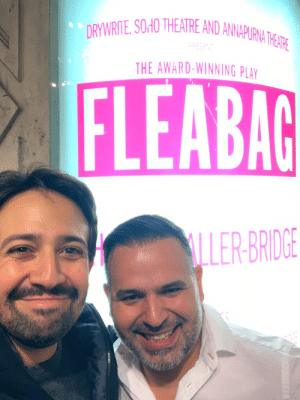 Caught the last performance of Fleabag w Carlos Miranda of the London Mirandas (no relation) Phoebe Waller-Bridge is an international treasure, which you may already know. https://t.co/YcShYlXaxI: DRYWRITE, SOHO THEATRE AND ANNAPURNA THE ATRE  THE AWARD-WINNING PLAY  FLEABAG  LLER-BRIDGE  93 Caught the last performance of Fleabag w Carlos Miranda of the London Mirandas (no relation) Phoebe Waller-Bridge is an international treasure, which you may already know. https://t.co/YcShYlXaxI