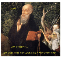 Dude, Kid, and Look: DUDE  AM I TRIPPIN.  OR DOESTHIS KID LOOK LIKE A MUFUKIN BIRD