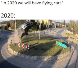 Dude in Poland went YEET at roundabout: Dude in Poland went YEET at roundabout