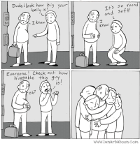 Andrew Bogut, Dude, and Comics: Dude ! look how big your  belly is  Its 5o foun  and soft  110  I know. X3  Know  Everyone Check out how  hugga ble this quy  I5  www.lunarbaboon.Com Round