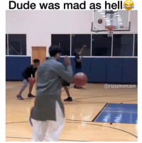 Dude, Kids, and Mad: Dude was mad as hell  ruumman Hate when kids do this tho 😂😂💀