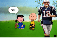 Good grief, Tom Brady. Enough with the deflating.: DUDE  WTF?  iCKER Good grief, Tom Brady. Enough with the deflating.