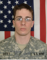 Please help me honor Army Sgt. Shane P. Duffy who selflessly sacrificed his life nine years ago in Iraq for our great Country. RIP Hero 🇺🇸 https://t.co/92IeKtghbY: DUFFY  US ARMY Please help me honor Army Sgt. Shane P. Duffy who selflessly sacrificed his life nine years ago in Iraq for our great Country. RIP Hero 🇺🇸 https://t.co/92IeKtghbY