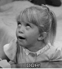 RT @ItsFullerHouse: When someone asks if you like Full House...: DUH!  D RT @ItsFullerHouse: When someone asks if you like Full House...