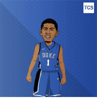 Does Duke win it all? Comment Yes, maybe or No and tag @kyrieirving: DUKE  TCS Does Duke win it all? Comment Yes, maybe or No and tag @kyrieirving