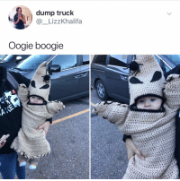 Halloween, Memes, and 🤖: dump truck  @_LizzKhalifa  Oogie boogie Post 1402: this just won halloween 2018🎃 👻