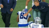 """It's okay son, it's not your fault. We're the Dallas Cowboys!"" - Jason Garrett: DUNBAR ""It's okay son, it's not your fault. We're the Dallas Cowboys!"" - Jason Garrett"