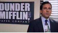 when straight white boys get dumped: DUNDER  MIFFLIN  APER CO MPANY when straight white boys get dumped