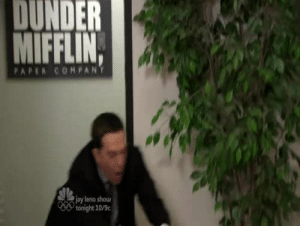 goobz:  laughfever:   sasborg:  hyacin-th:  this is literally the greatest video in the entire world  Literally.  Bless this video   omg. I have only heard of this scene and as it turns out,  is as magical as I thought: DUNDER  MIFFLIN,  PAPER COMPANY  jay leno shou  tonight 10% goobz:  laughfever:   sasborg:  hyacin-th:  this is literally the greatest video in the entire world  Literally.  Bless this video   omg. I have only heard of this scene and as it turns out,  is as magical as I thought