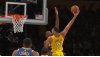 Dunk, Kevin Durant, and Larry Nance Jr.: Dunk of the Year: Larry Nance Jr dunks on Kevin Durant!!! https://t.co/XgwarlZGoB