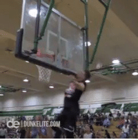Basketball, Dunk, and White People: DUNKELITECOM Really just dunked behind the backboard? WhiteBballSuccess