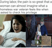 During Labor The Pain Is So Great