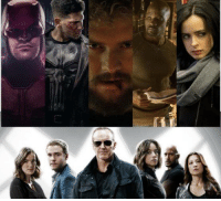 "During the Agents of SHIELD panel at NYCC, Jeph Loeb was asked when the agents would become aware of the vigilantes in Hell's Kitchen.  He responded with, """"Fair question. The answer is...stay tuned"".    How would you like to see the Netflix and ABC properties crossover?   http://tinyurl.com/gnuqvp4 (Steven Hall): During the Agents of SHIELD panel at NYCC, Jeph Loeb was asked when the agents would become aware of the vigilantes in Hell's Kitchen.  He responded with, """"Fair question. The answer is...stay tuned"".    How would you like to see the Netflix and ABC properties crossover?   http://tinyurl.com/gnuqvp4 (Steven Hall)"